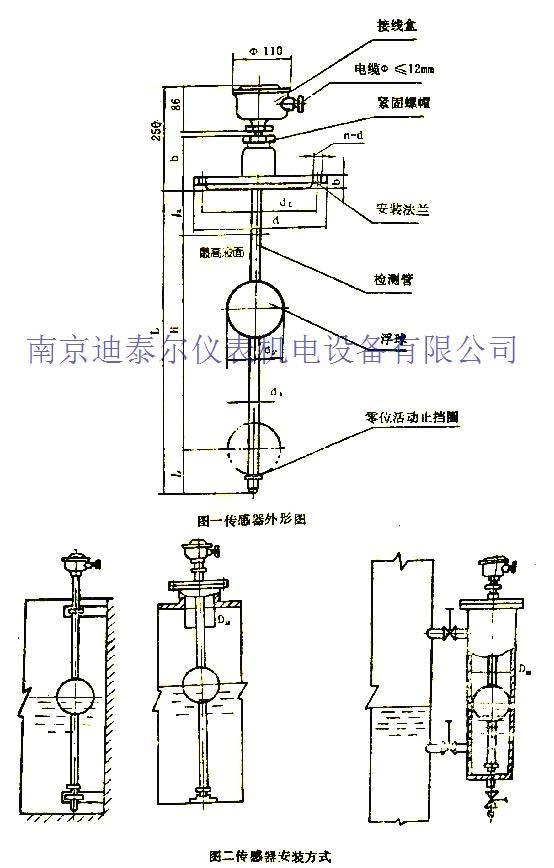 液位继电器工作原理